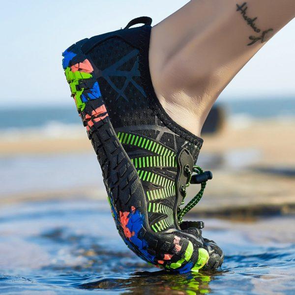 Unisex bosonohá obuv