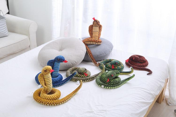 Velký plyšový had Vilhelm - více variant