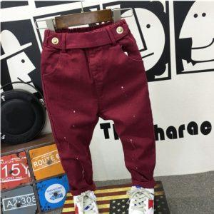 Stylové kalhoty pro chlapce