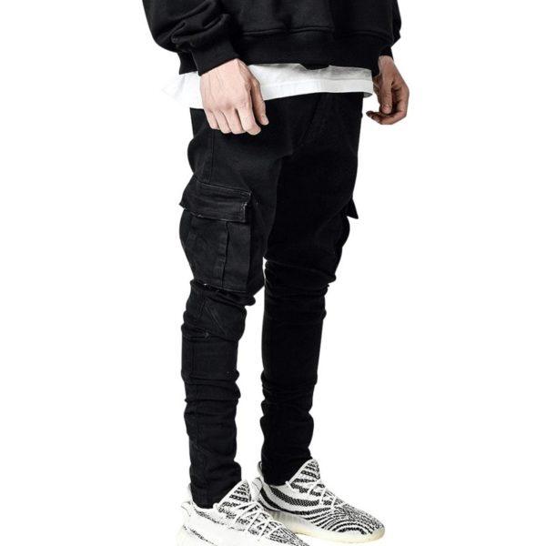 Pásnské stylové cargo kalhoty