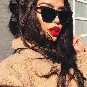 Dámské vintage sluneční brýle
