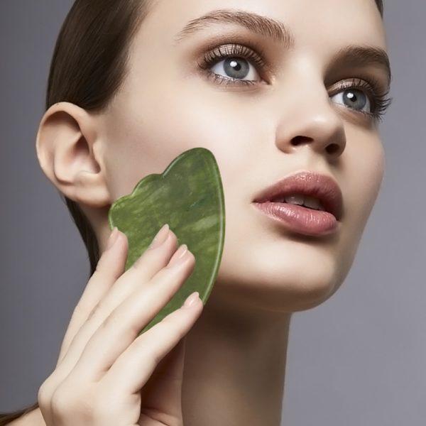 Jade roller na obličej pro ženy