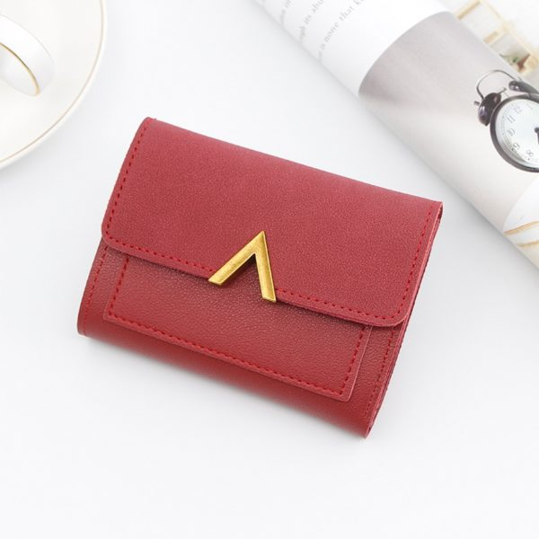 Dámská jednoduchá mini peněženka