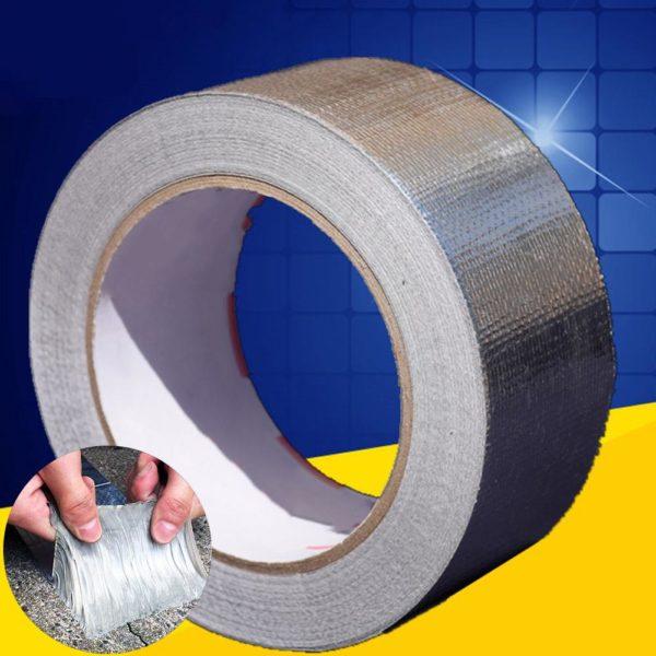 Samolepicí voděodolná multifunkční páska z hliníkové fólie