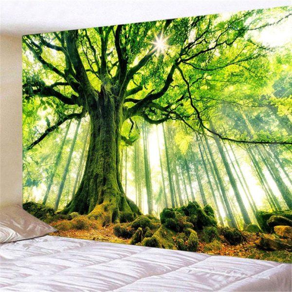 Závěsné tapiserie na zeď - krajina