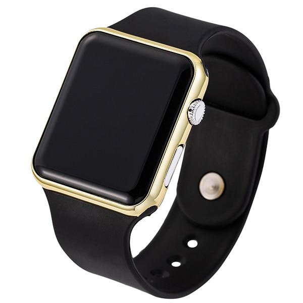 Unisex stylové sportovní LED hodinky