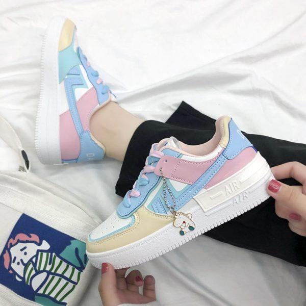 Dámské luxusní letní sneakers boty Zoe