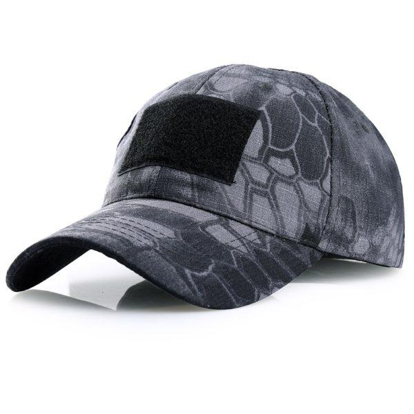 Vojenská airsoftová čepice se sponou