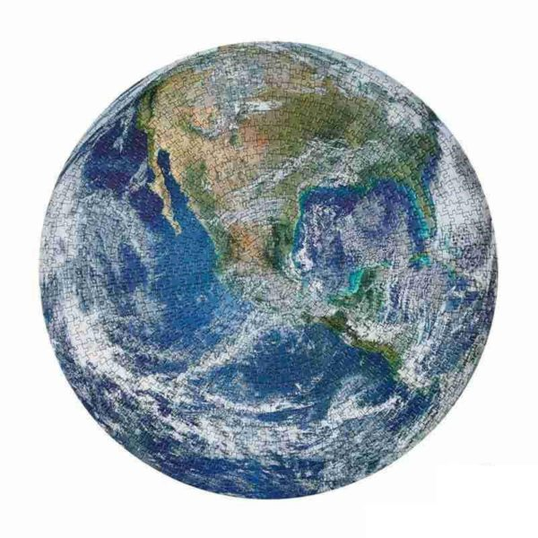 Puzzle ve tvaru různých planet - 1000 ks