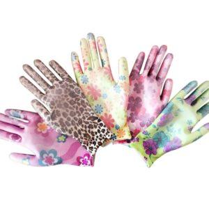 Zahradní dámské rukavice
