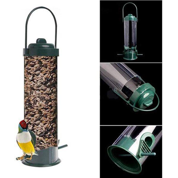 Plastové závěsné venkovní krmítko pro ptáčky