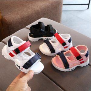 Stylové sandály na suchý zip