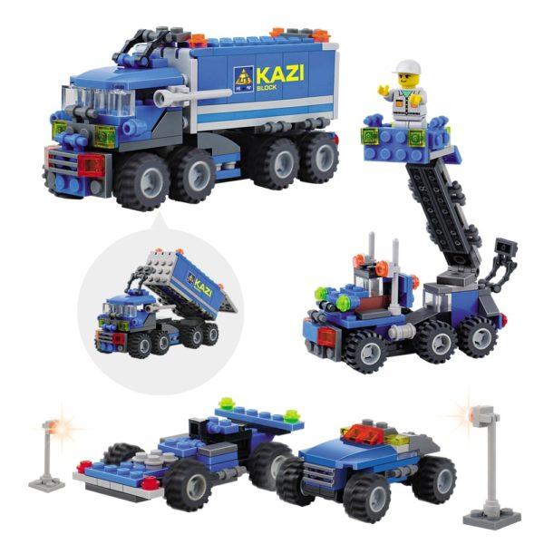 Stavebnice KAZI ve stylu LEGO - kamion