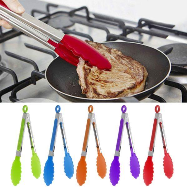 Kuchyňské silikonové grilovací kleště