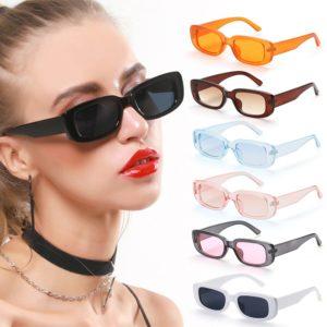 Dámské sluneční brýle v retro stylu