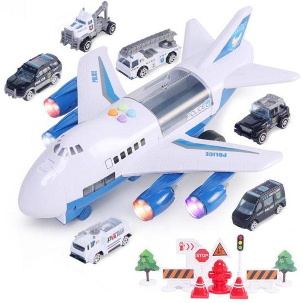 Dětská hračka letadlo - hasiči, policie