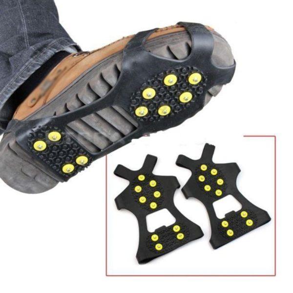 Protiskluzové návleky na boty proti ledu