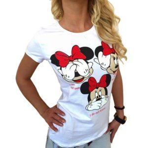 Dámské tričko s potiskem Minnie