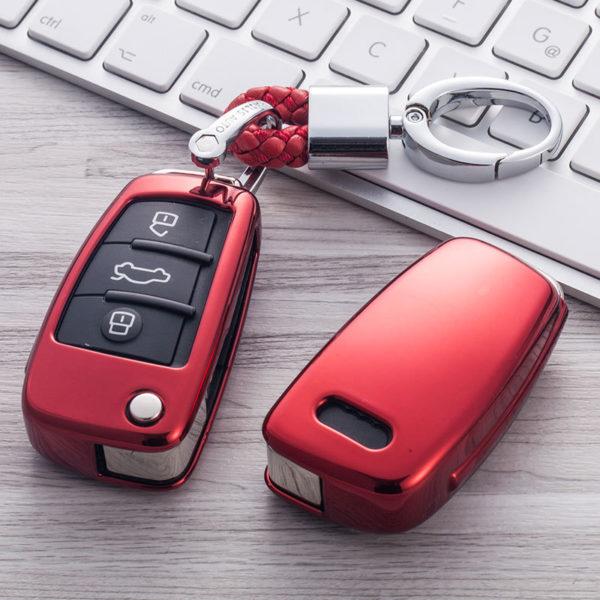 Metalický obal na klíčky od auta