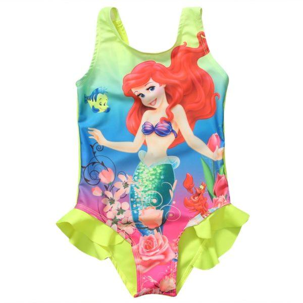 Roztomilé dívčí plavky - Ariel