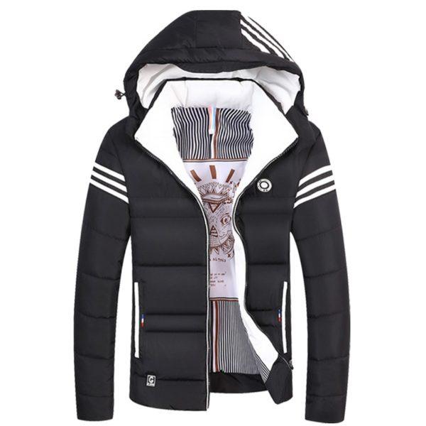 Pánská zimní bunda s kapucí Winter