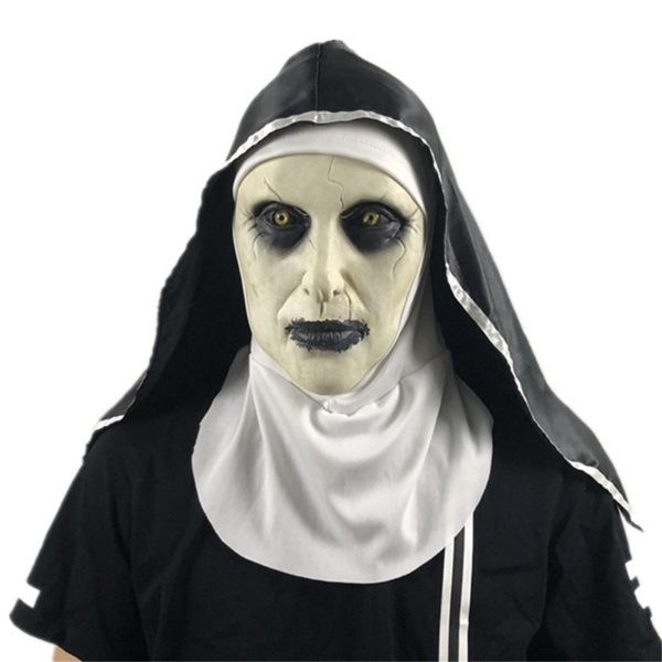 Děsivé masky na Halloween
