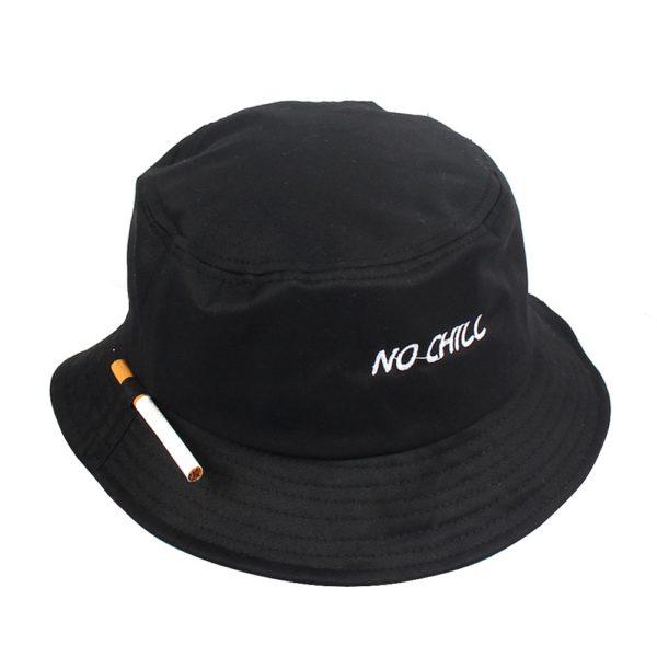 Letní Unisex klobouk s cigaretou