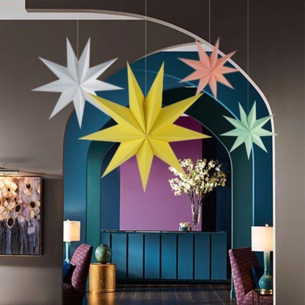 Velká dekorační hvězda