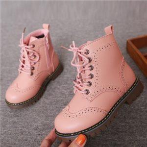 Originální podzimní šněrovací boty