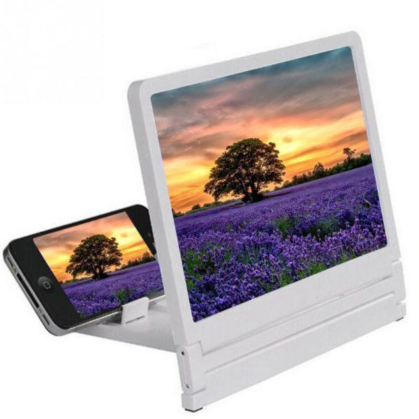 Přenosný zvětšovač obrazovky pro mobilní telefony - lupa