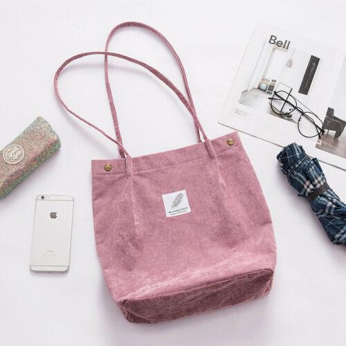 Dámská manšestrová módní kabelka