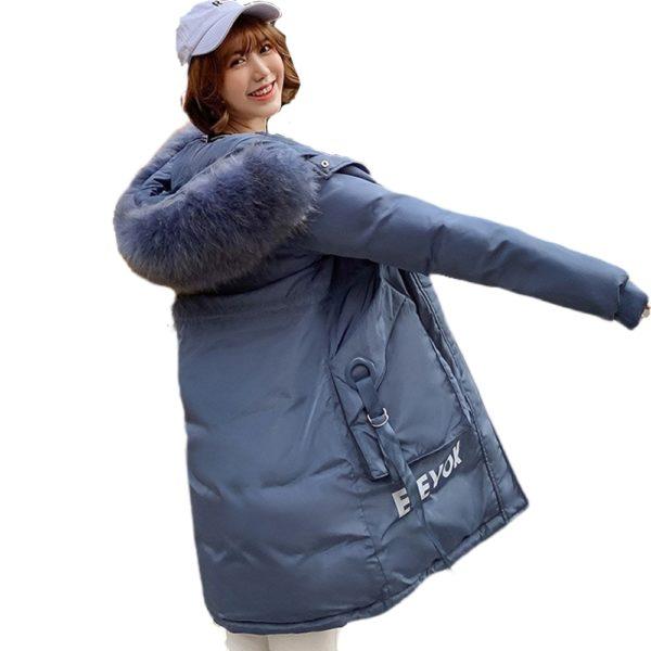 Dámská zimní stylová dlouhá bunda Ryan Booker