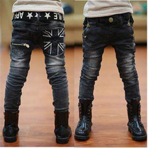Stylové džíny s americkou hvězdou