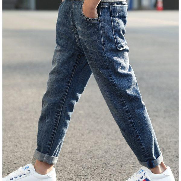 Klasické modré džíny pro chlapce