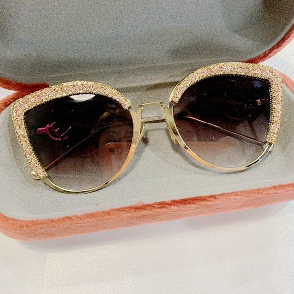 Dámské kulaté sluneční brýle