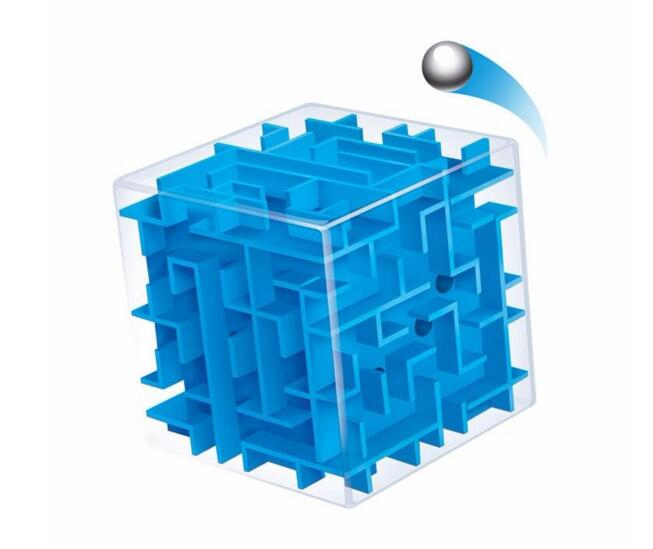 3D labyrint, kasička na peníze