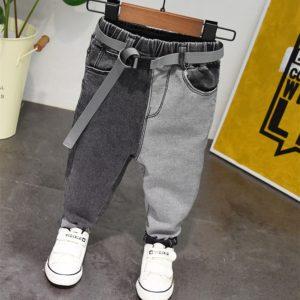 Ležérní džínové kalhoty