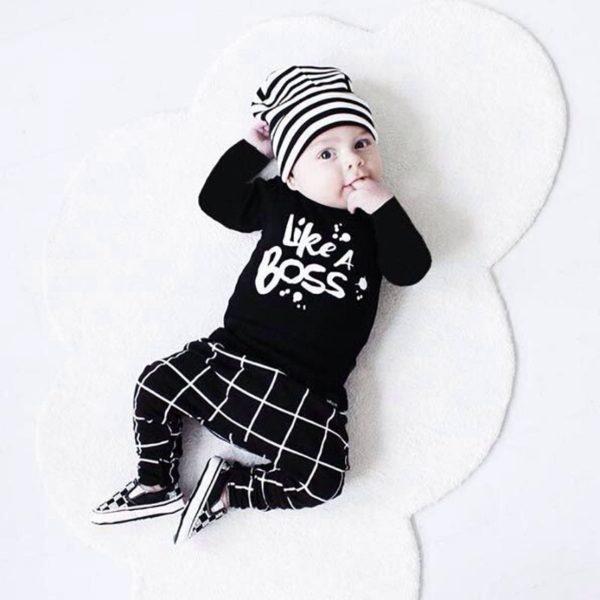 Novorozenecká souprava Like a Boss