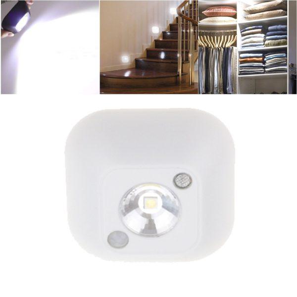 Bezdrátové LED noční světlo s pohybovým senzorem