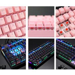 Krásná podsvícená klávesnice
