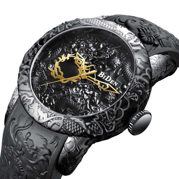 Luxusní pánské hodinky Megalith Black Dragon