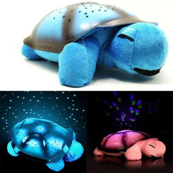 Magická svítící želva - noční světlo