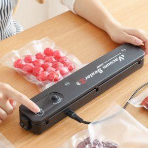 Praktický stroj na vakuování potravin do kuchyně