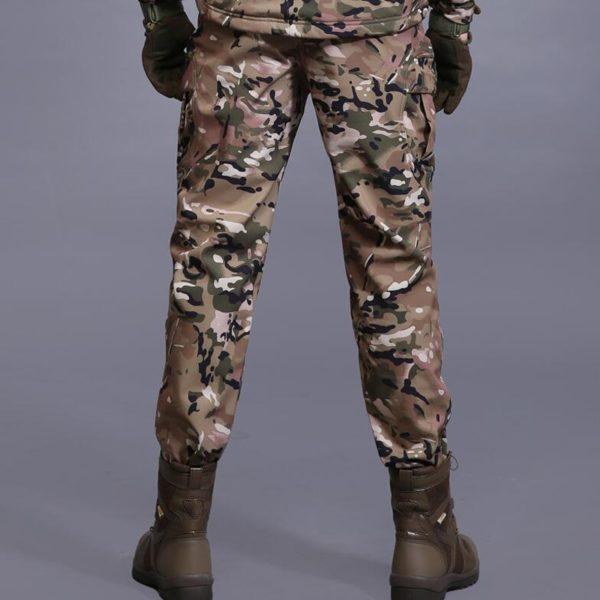 Pánské zimní vojenské kalhoty