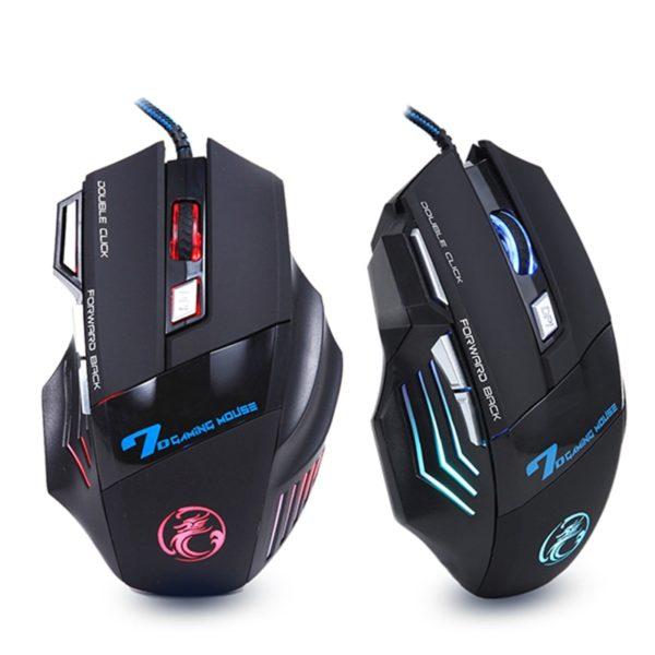 Profesionální kabelová herní myš