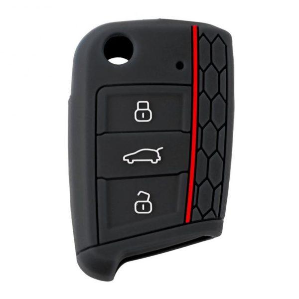 Silikonové pouzdro na klíč pro Škoda a VW