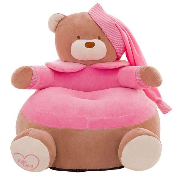 Dětské relaxační křeslo ve tvaru medvěda