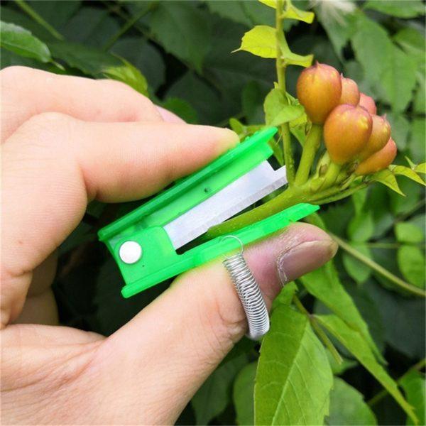 Mini zahradní nůžky na sběr ovoce