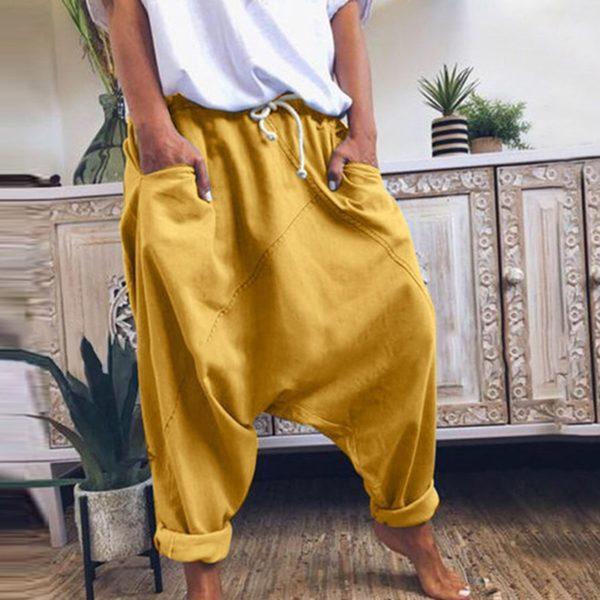Dámské volné kalhoty Harem