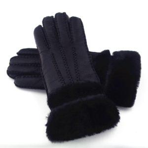 Dámské zimní rukavice z ovčí kůže